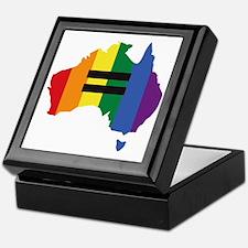 LGBT equality Australia Keepsake Box