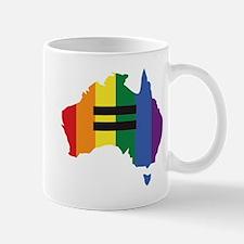 LGBT equality Australia Mug