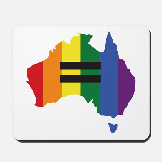 LGBT equality Australia Mousepad