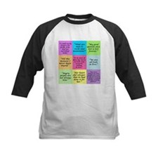 Pride and Prejudice Quotes Baseball Jersey