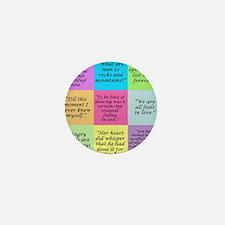 Pride and Prejudice Quotes Mini Button