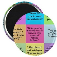 Pride and Prejudice Quotes Magnets