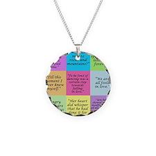 Pride and Prejudice Quotes Necklace