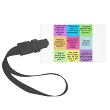 Pride and Prejudice Quotes Luggage Tag