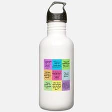 Pride and Prejudice Quotes Water Bottle