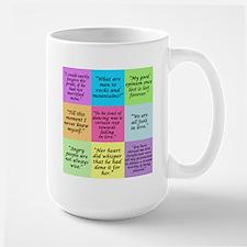 Pride and Prejudice Quotes Mugs