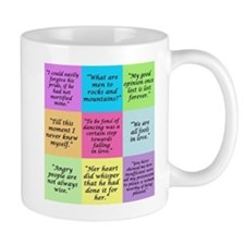 Pride and Prejudice Quotes Mugs