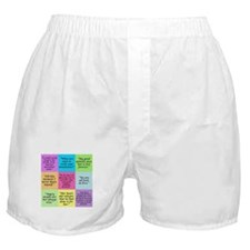 Pride and Prejudice Quotes Boxer Shorts