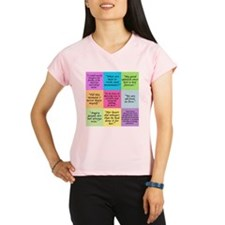 Pride and Prejudice Quotes Performance Dry T-Shirt