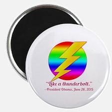 Justice Like a Thunderbolt Magnet