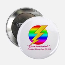 "Justice Like a Thunderbolt 2.25"" Button"