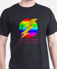 Justice Like a Thunderbolt T-Shirt