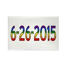 Gay Marriage Legal Date - 6-26-2015 Magnets