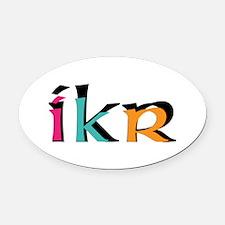 IKR Oval Car Magnet