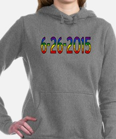 Gay Marriage Legal Date Women's Hooded Sweatshirt
