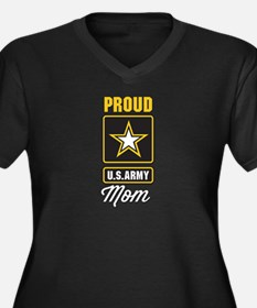 Proud US Army Mom Plus Size T-Shirt