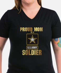 Proud Mom of a US ARMY soldier T-Shirt