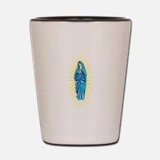virgin Mary Shot Glass