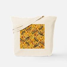 Dragonfly Flit Warm Breeze Tote Bag