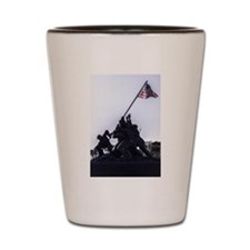 Iwo Jima Memorial Shot Glass