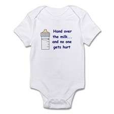 BABY BOTTLE HUMOR Infant Bodysuit