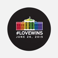"#LoveWins 3.5"" Button (100 pack)"