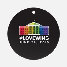 #LoveWins Ornament (Round)