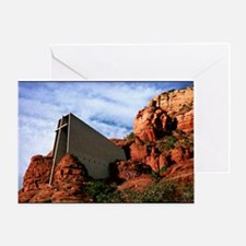 Chapel of the Holy Cross #R812 Greeting Card