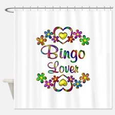 Bingo Lover Shower Curtain