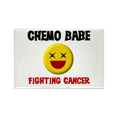 Chemo Babe Rectangle Magnet