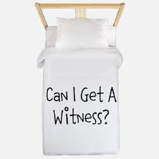 Can I Get A Witness Twin Duvet