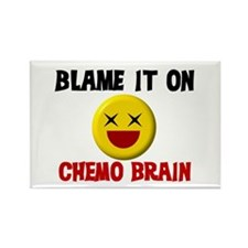 Blame Chemo Brain Rectangle Magnet
