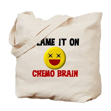 Blame Chemo Brain Tote Bag