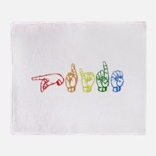 PRIDE Throw Blanket