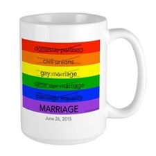 Marriage June 26, 2015 Mug