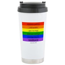 Marriage June 26, 2015 Travel Mug