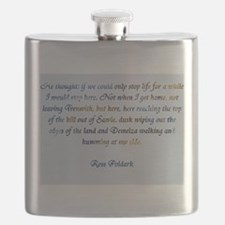 Ross Poldark Flask