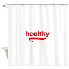Healthy Shower Curtain