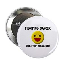 Fighting Cancer Button