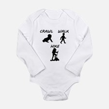 Crawl Walk Hike Body Suit