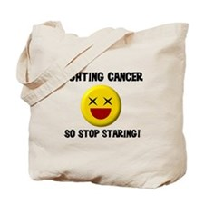 Fighting Cancer Tote Bag