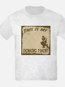 My Thinking T-Shirt T-Shirt