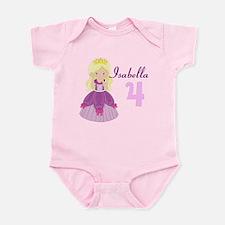 Blonde Princess Infant Bodysuit