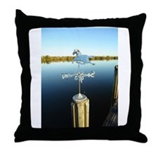 Merrit Island Weathervane Throw Pillow