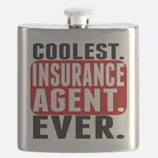 Coolest. Insurance Agent. Ever. Flask