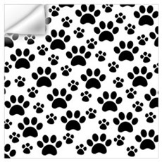 Dog Paws Wall Decal