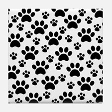 Dog Paws Tile Coaster