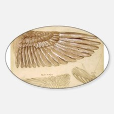 Leonardo Da Vinci Study of wings Decal