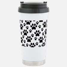 Dog Paws Stainless Steel Travel Mug