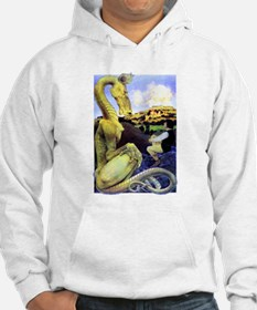 The Reluctant Dragon by Maxfield Hoodie